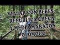 VIAJAR CON BEBÉS: REPÚBLICA CHECA Y MEDIA MARATÓN OLOMOUC