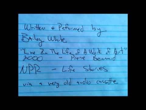 Bailey White -  Live In The Life of Art - NPR Life Stories 2000