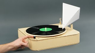 DIY Simple Vinyl Record Player