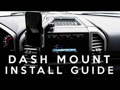 Dash Mount Installation - 2015+ Ford F-150 And Raptor