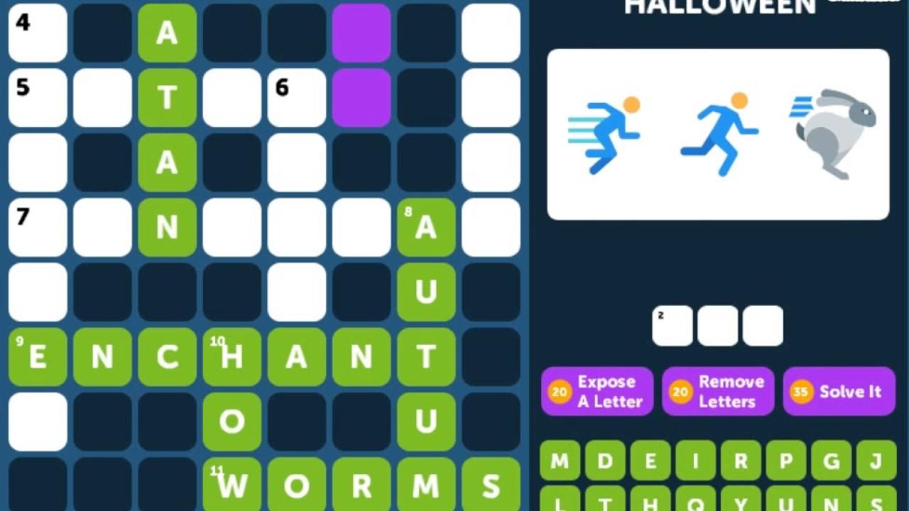 Crossword Quiz HALLOWEEN Level 5 - Walkthrough