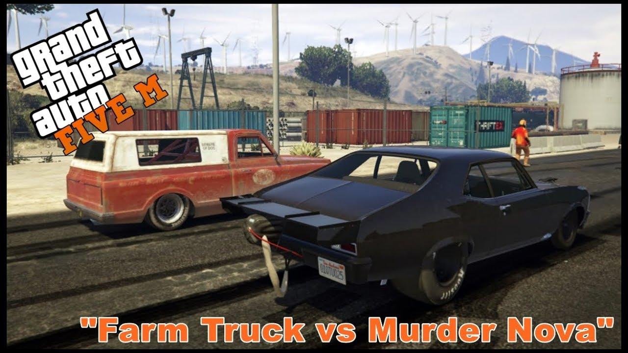 GTA 5 ROLEPLAY - FARM TRUCK VS MURDER NOVA - EP  113 - CIV