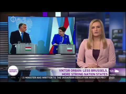 Orban In Poland: Less Brussels, Stronger Nation States