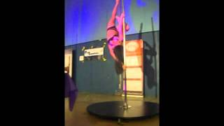 Sarah Scott - Guest Performance - UK Inter-University Pole Competition 2012