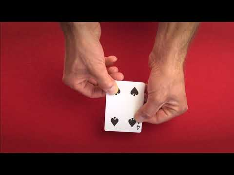 Gaff Bicycle Cards video