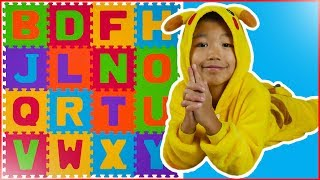 Learn letters educational video for preschoolers