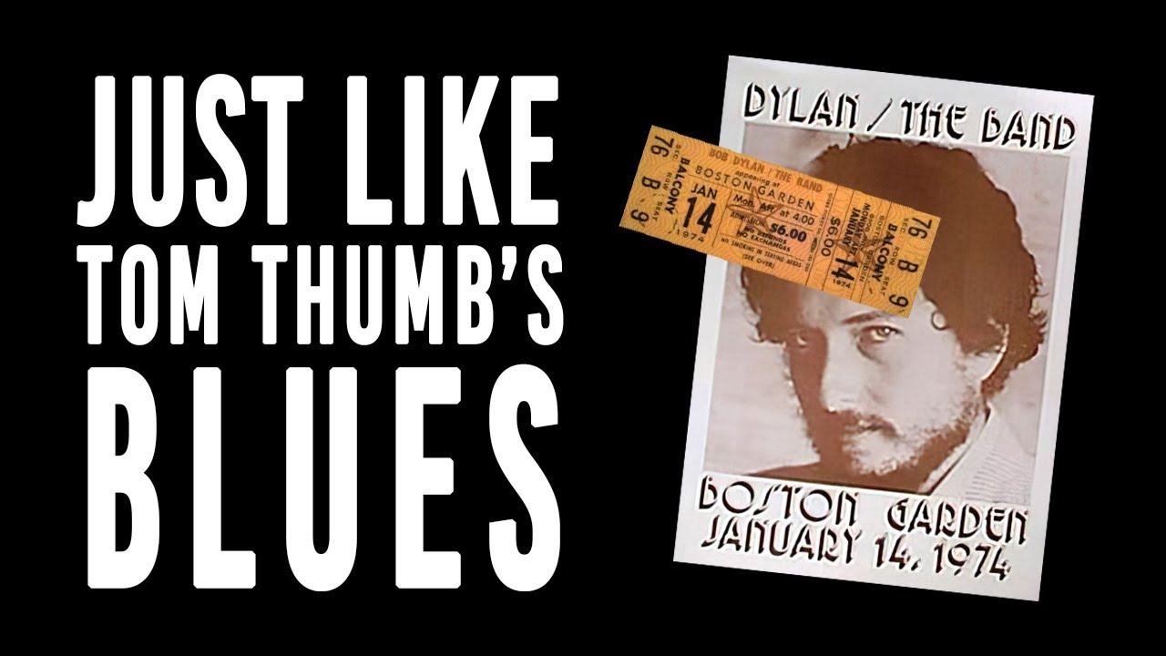 ~ Bob Dylan - Just Like Tom Thumb's Blues (Boston, January 14, 1974 - Afternoon) [audio] ~