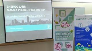 Energo Labs Blockchai+Clean Energy Workshop @ Manila