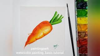 watercolor painting basic tuto…