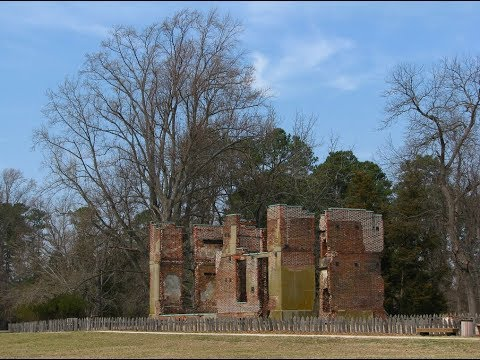 Visiting Historic Jamestowne, City park in Jamestown, Virginia, United States