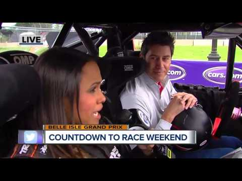 Catching up with Arie Luyendyk Jr. ahead of the Chevrolet Detroit Belle Isle Grand Prix