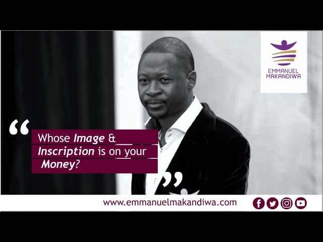 Emmanuel Makandiwa 2020 sermon |Whose image and inscription is on your money?