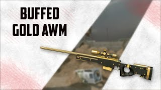 Warface buffed Gold AWM in ranked    RU PTS
