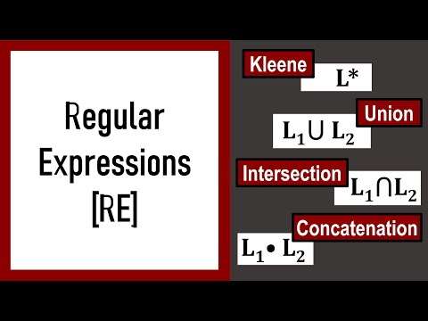 Automata Theory - Lecture 5 - 1 - Regular Expressions
