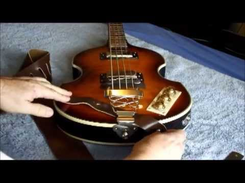 Epiphone Viola Bass A Different Strap Position