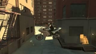 GTA 4 -  EPIC Bike Stunt - Happy New Year 2015!