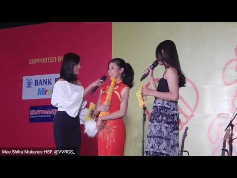 Gabryela Marcelina, Mandarin Dance Performance  at Mae Shika Mukanee HSF
