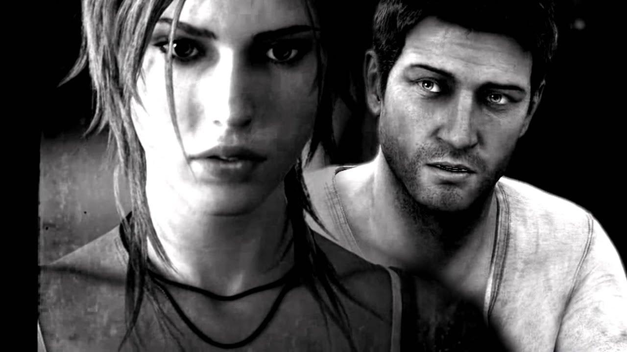 Lara Croft And Nathan Drake: Nathan Drake X Lara Croft