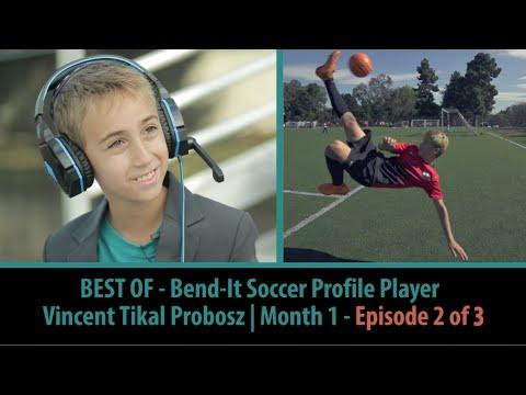 Vincent Probosz Interview I Bend-It Soccer Profile Player I Month 1 - Episode 2 of 3