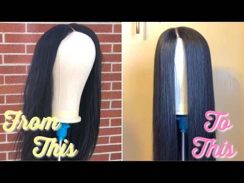 HOW TO MAKE YOUR QUICK WEAVE WIG BRAND NEW AGAIN Ft March Queen Hair