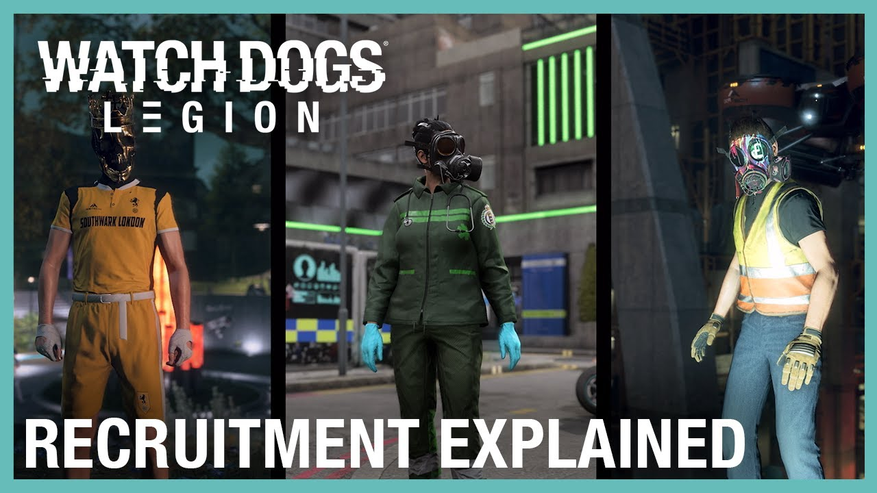 Watch Dogs: Legion: Recruitment Explained | Ubisoft Forward 2020 | Ubisoft
