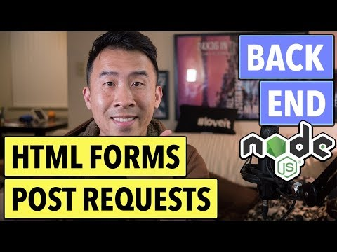NodeJS REST: Serve HTML Files and POST Requests (Ep 3)
