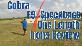 Cobra King F9 Speedback One Length Irons Review using Skytrak Bag Mapping Feature