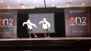 BroMambo - Mambo of The Times @ stargate competition at On2 Salsa Congress