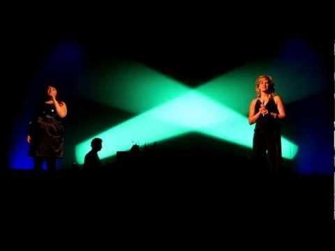 Edge Of Glory - Melissa Durdle & Shauna Matthews W/ Brian Way On Piano (Lady Gaga)