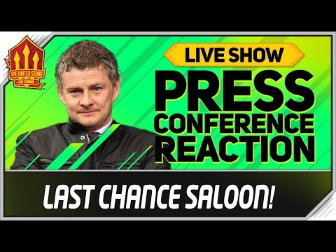 Solskjaer Press Conference Reaction! Manchester United vs Manchester City