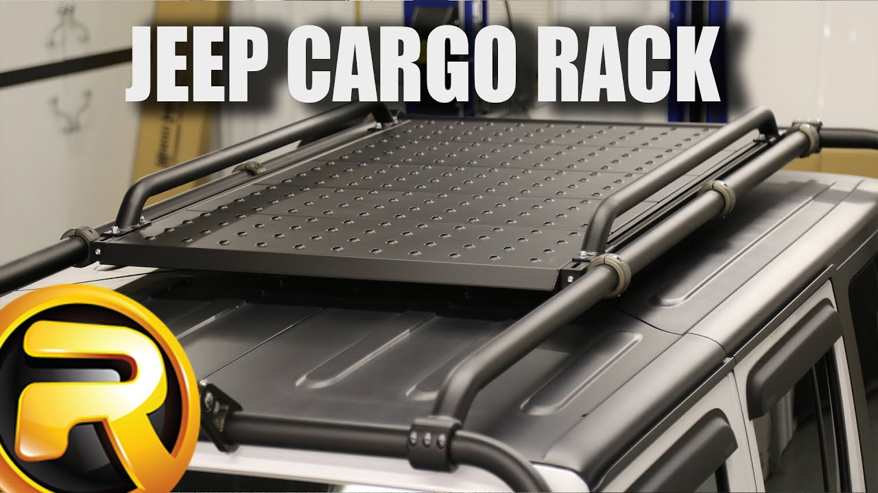 How To Install Kargo Master Jeep Congo Rack And Accessories   YouTube