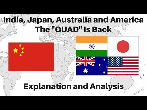 The QUAD is Back To Lock Horns with China - Explanation and Analysis