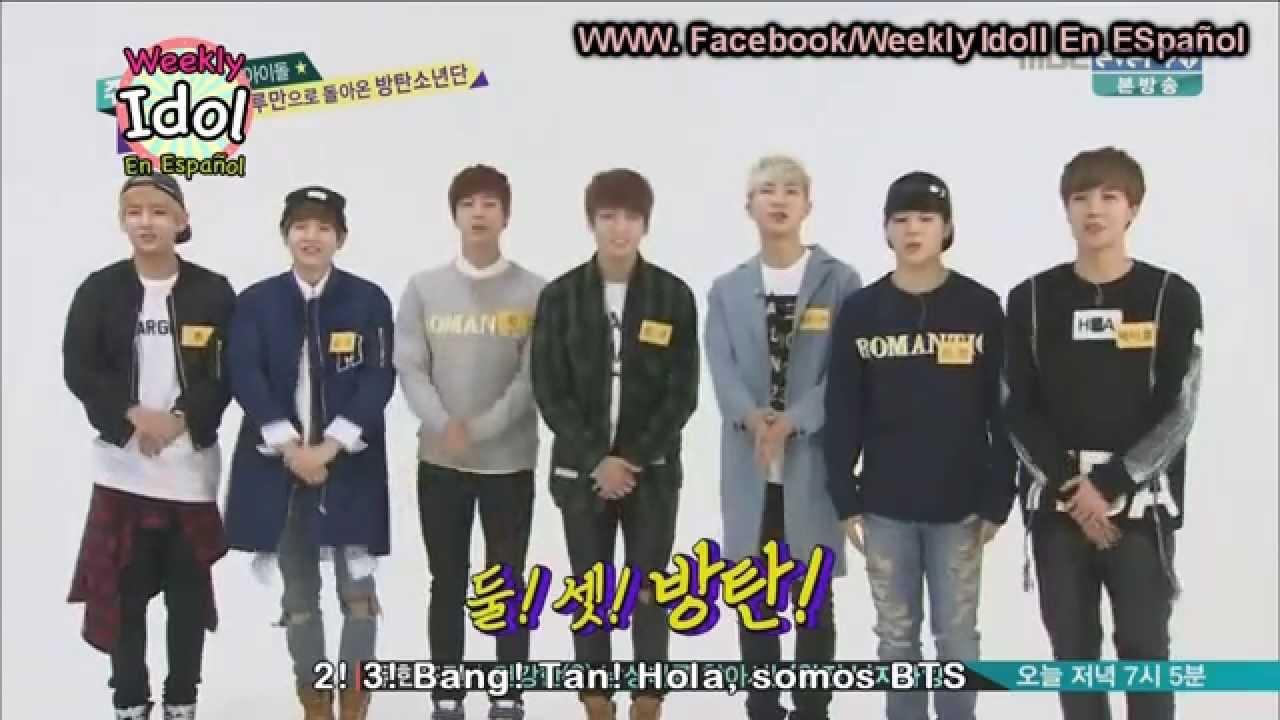 Bts Weekly Idol