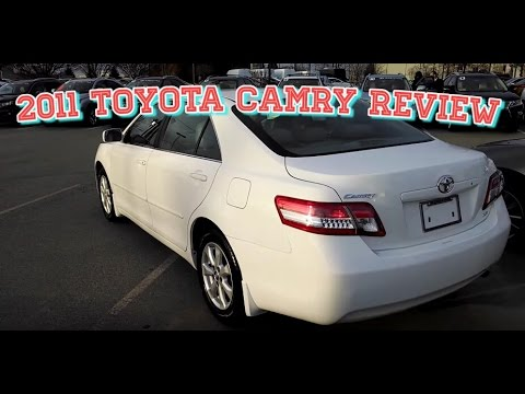 2011 Toyota Camry LE Sedan - Review & Overview
