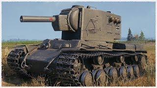 Beutepanzer KV-2 • 13 Kills • 2 vs 10 • WoT Gameplay