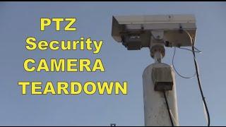 MF#11 CCTV surveillance PTZ dome security camera Whats Inside ?