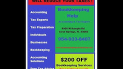 Coral Springs Bookkeeping Services | Bookkeeping Expert Advice