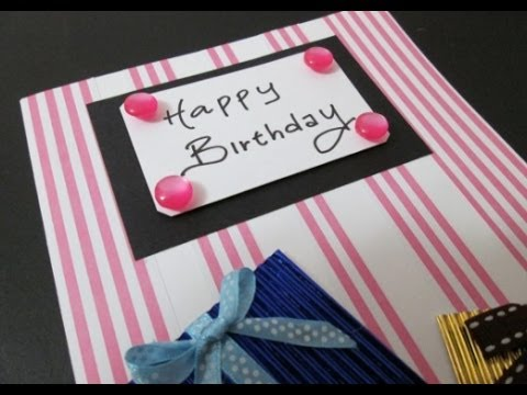 Diy 24 birthday card youtube m4hsunfo