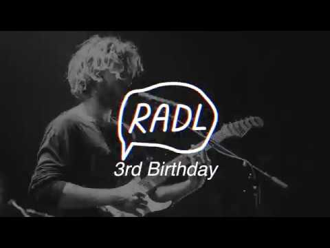 This is Radelaide's 3rd Birthday