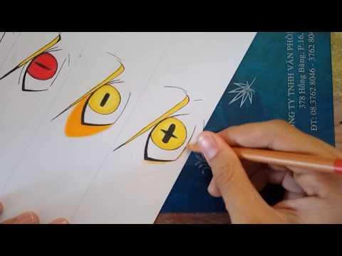 How To Draw Naruto's Eyes || Naruto Shippuden
