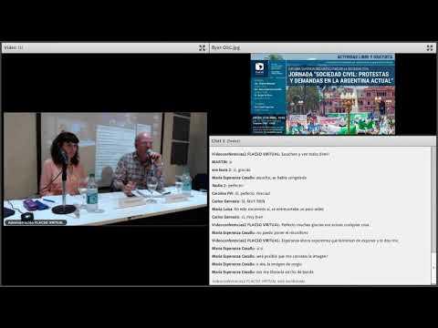 """Jornada """"Sociedad civil: protestas y demandas en la Argentina actual"""""""
