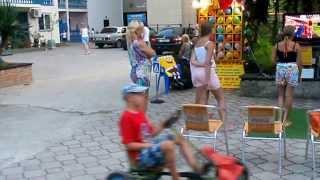 Лазаревское в августе 2013. Развлечения для детей в Морской звезде(Лазаревское, Санаторий