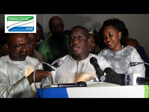 'I'll be president for all Sierra Leoneans' - Maada Bio after swearing in