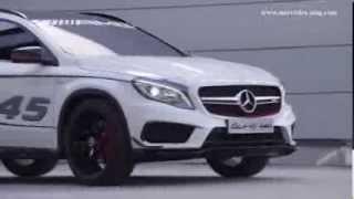 Mercedes-Benz GLA45 AMG Concept 2013 Videos