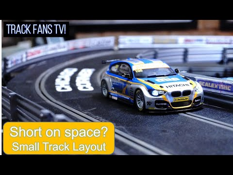 Track #87 – Scalextric 2021: No Space at home!? Check out the Small Scalextric Track Layout
