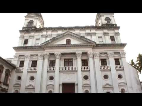 Church premises of St. Cajetan Church, Old Goa