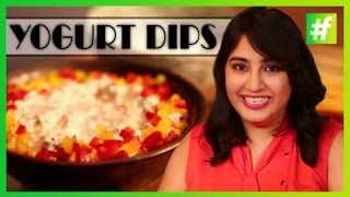#fame Food -​​ Quick And Easy Yogurt Dips | Amrita Rana