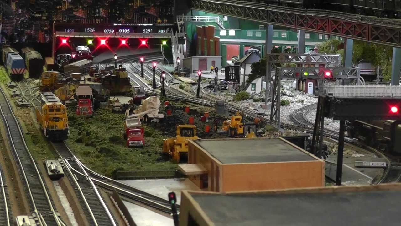 H O  Freight Yard Signal Lights (2D or 3D)