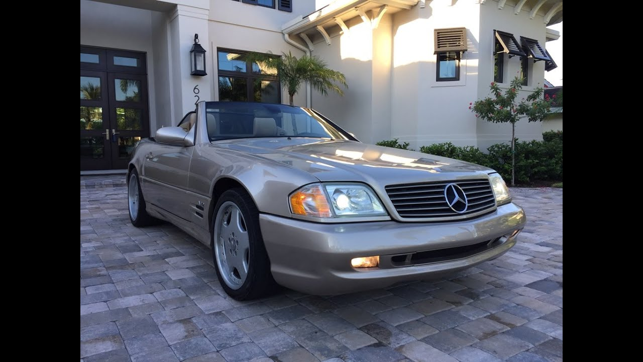2001 MercedesBenz SL600 Roadster for sale by Auto Europa Naples