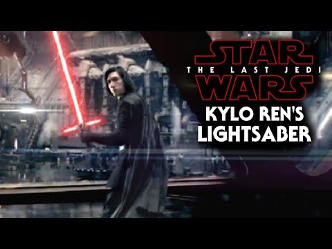 Download Youtube: Kylo Ren's Lightsaber NEW Detail Revealed! - Star Wars The Last Jedi